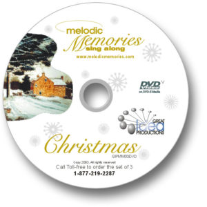 Memories Sing-Along Christmas DVD