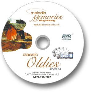 Melodic Memories - Single DVD disc