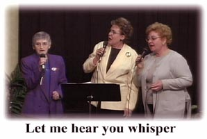 Seniors Singing on DVD