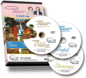Memories Sing-Along Series on DVD