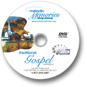 Memories Sing-Along Traditional Gospel DVD