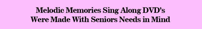 Music Made for Seniors