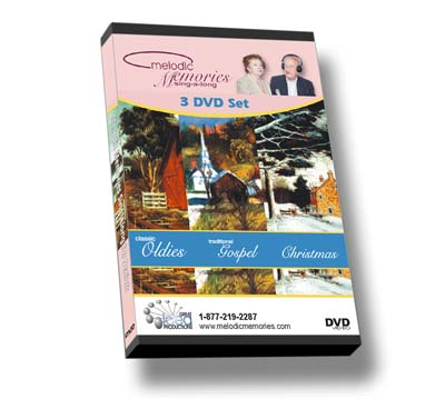 Melodic Memories THE SERIES of all 3 on DVD