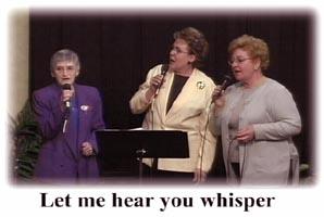 Seniors Singing on DVD