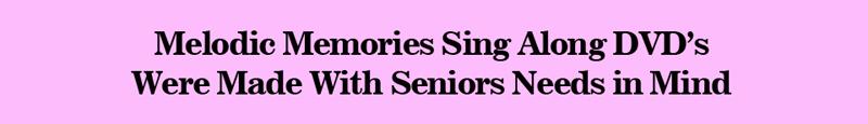Music Made for Seniors